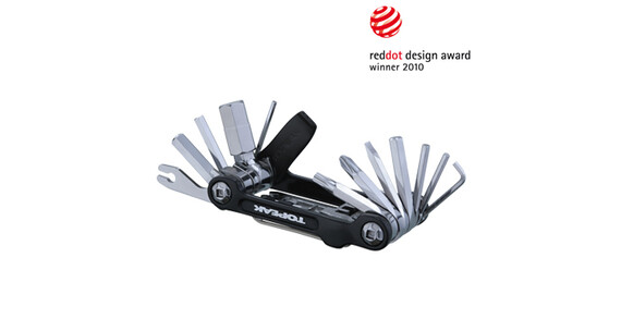 Topeak Mini 20 Pro Miniwerkzeug schwarz